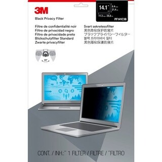 3M Mobile Interactive Solution - 3M Pf14.1 Privacy Filter For Standard Formatted Notebooks