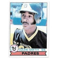 Ozzie Smith 1979 Topps San Diego Padres Baseball Rookie Trading Card 116