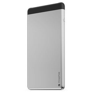 mophie Dual USB Powerstation 10K (10,000 mAh) External Battery Charger - Aluminum (Certified Refurbished)