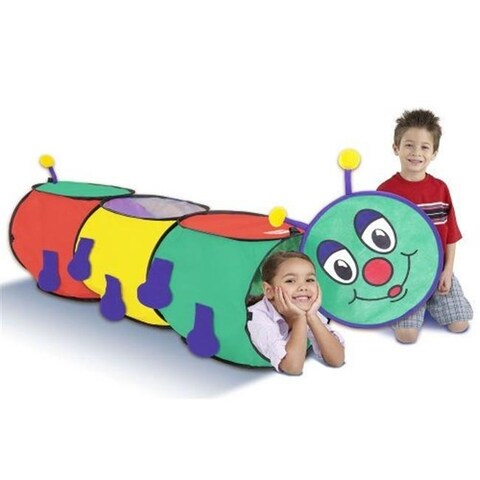 Playhut 10441-46R Wiggly Worm Tunnel Play Tents & Tunnels