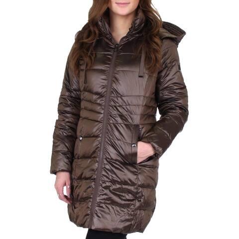 Sam Edelman Womens Puffer Coat Down Winter