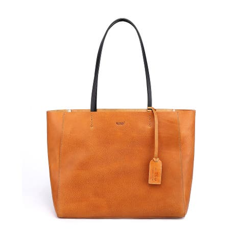 Old Trend Genuine Leather Out West Tote