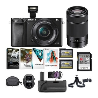 Link to Sony Alpha a6000 Mirrorless Camera with 16-50mm & 55-210mm Lens Bundle Similar Items in Digital Cameras