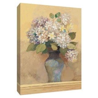 "PTM Images 9-154637  PTM Canvas Collection 10"" x 8"" - ""Summer Hydrangea I"" Giclee Hydrangeas Art Print on Canvas"