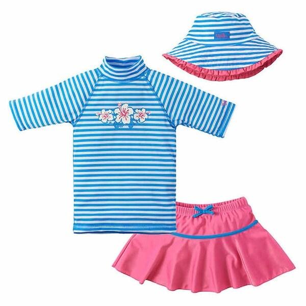 Girls Ruffle Swim Skirt UV Skinz UPF 50