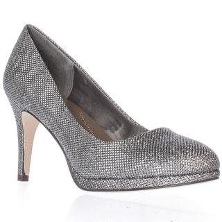SC35 Nikolet Classic Round Toe Heels - Silver