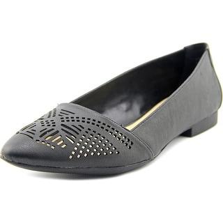 Bella Vita Owen Pointed Toe Leather Flats