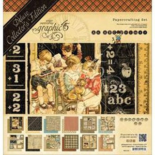 "ABC Primer - Graphic 45 Deluxe Collector's Edition Pack 12""X12"""