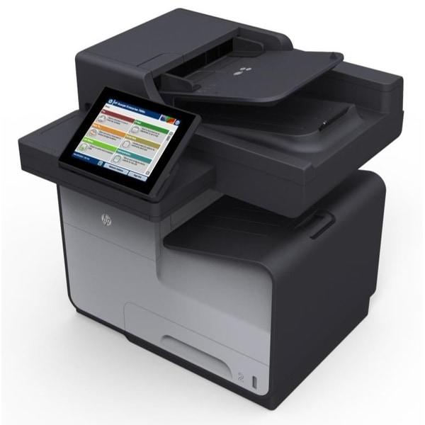 HP Officejet X585Z Inkjet Multifunction Printer - Color - Plain Paper Print B5L06A