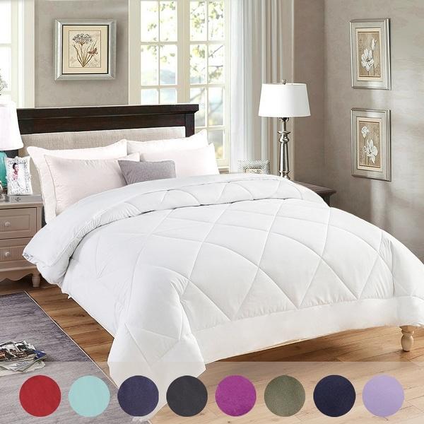 Luxury All-Season Down Alternative Reversible Comforter. Opens flyout.