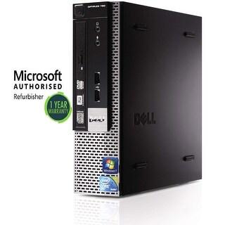 Dell GX780 USFF, intel C2D 3.0GHz, 4GB, 160GB SSD, W10 Home