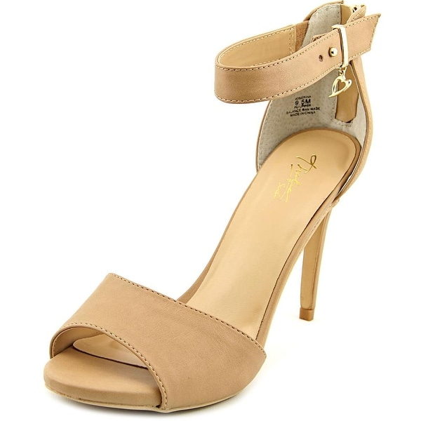 Thalia Sodi Josefina Women Open Toe Synthetic Nude Sandals