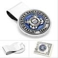 Pewter U.S. Coast Guard Money Clip - Thumbnail 0