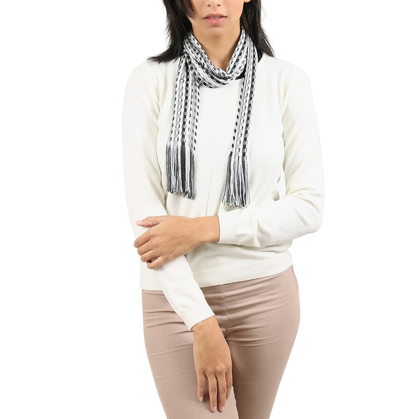 Missoni Gray/Black Checkered Scarf - 14-72. Opens flyout.