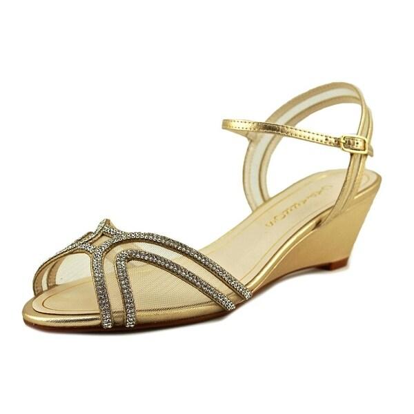 Caparros Hilton Women Gold Sandals