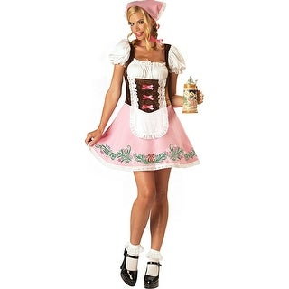 Fetching Fraulein Costume Adult Plus - Pink