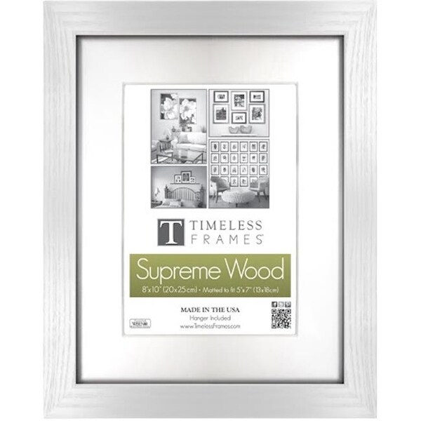 Shop Timeless Frames 73278 Regal Memory White Wall Frame, 12 x 12 in ...