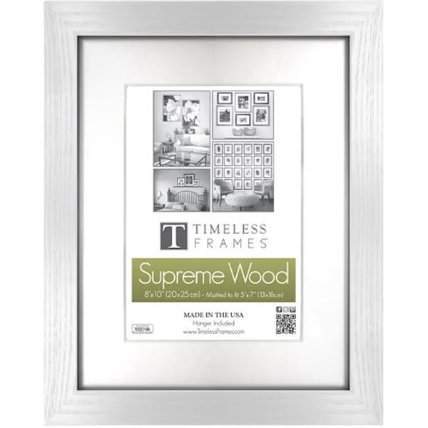 Timeless Frames 73283 Regal White Wall Frame, 8 x 12 in. - Free ...