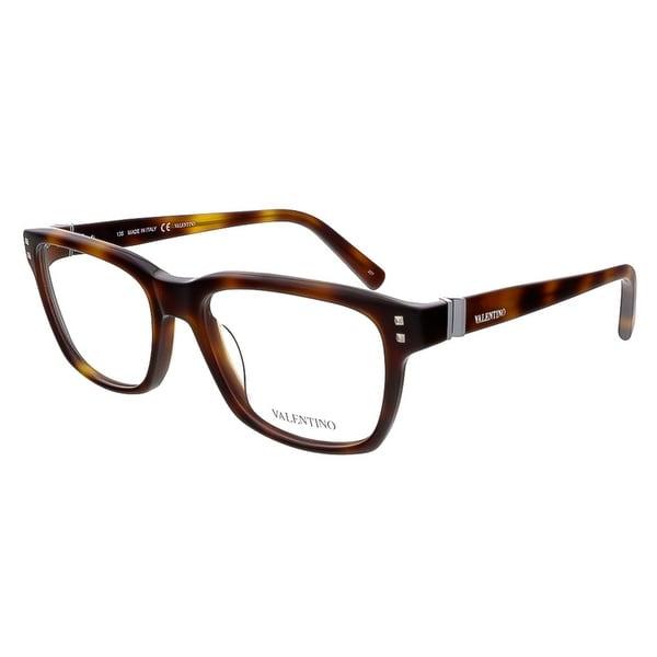 Valentino V2634 214 Havana Rectangular Valentino Eyewear - 53-18-135