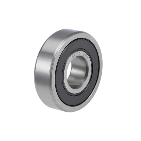 """RLS4-2RS Ball Bearings Z2 1/2""""x1-5/16""""x3/8"""" Double Sealed Chrome Steel - 1 Pack"""