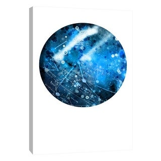 """PTM Images 9-105930  PTM Canvas Collection 10"""" x 8"""" - """"Interstellar Sphere 1"""" Giclee Celestial Art Print on Canvas"""