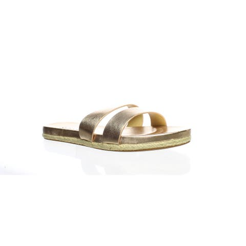 Splendid Womens Brittani Rose Gold Espadrilles Size 6.5