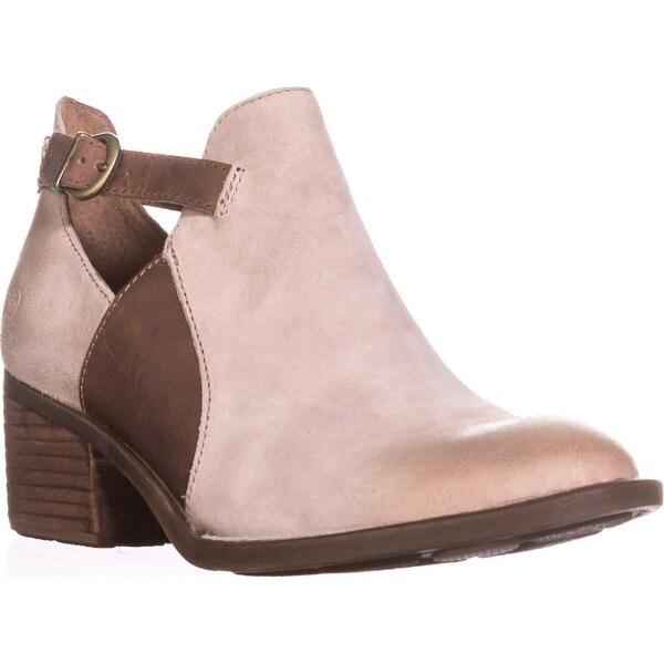 Born Carin Cutout Ankle Boots, Taupe - 8 us / 39 eu
