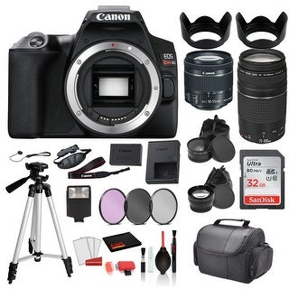 Link to Canon EOS Rebel SL3 Digital SLR Camera with 18-55mm Lens and EF Similar Items in Digital Cameras