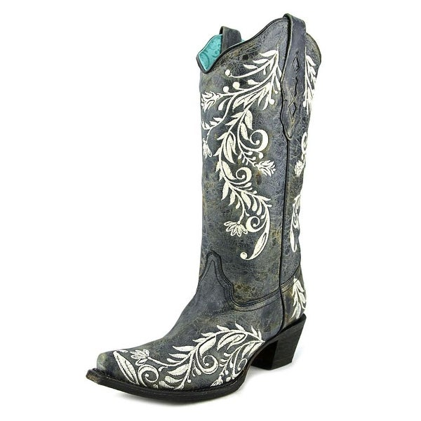 Corral A3170 Pointed Toe Leather Western Boot