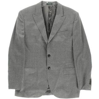 Kent & Curwen Mens Wool Single Vent Blazer - 42R