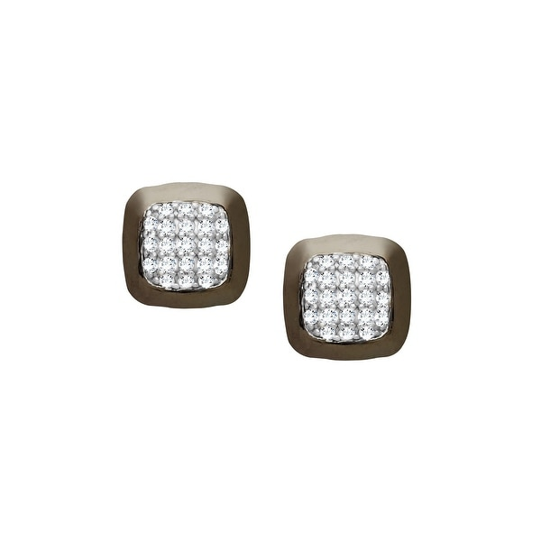 1/4 ct Diamond Stud Earrings in Sterling Silver