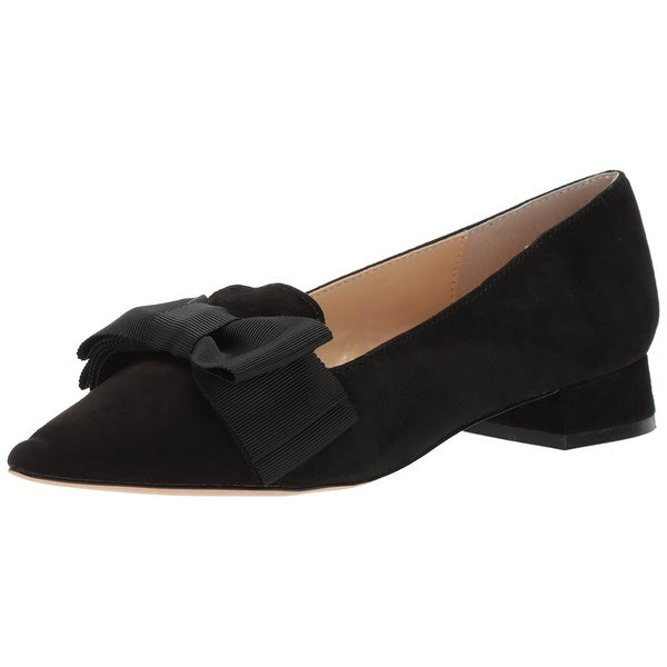 Adrienne Vittadini Womens ficke Leather Pointed Toe Classic Pumps