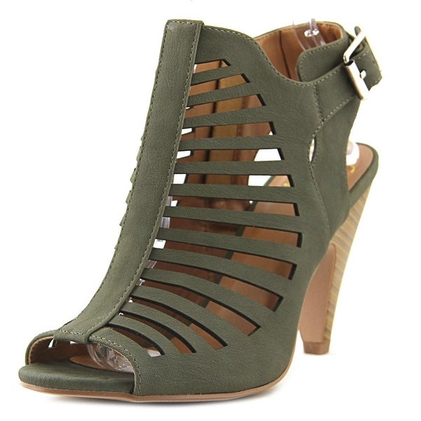Delicious Shaky LKha/Stack Sandals
