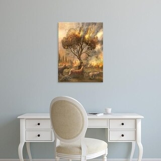 Easy Art Prints Terry Fan's 'Flight' Premium Canvas Art