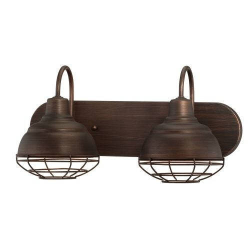 Millennium Lighting 5422 Neo Industrial 2 Light Bathroom Vanity Light