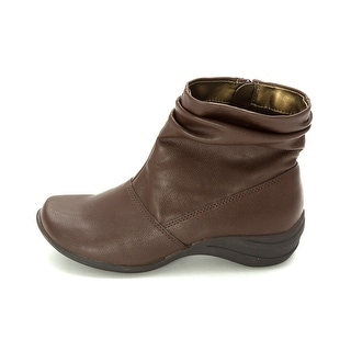 Hush Puppies Womens Epic Slouch Closed Toe Ankle Fashion Boots