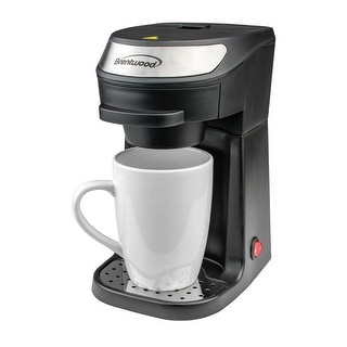 Link to Brentwood Single Serve Coffee Maker in Black with Mug Similar Items in Kitchen Appliances