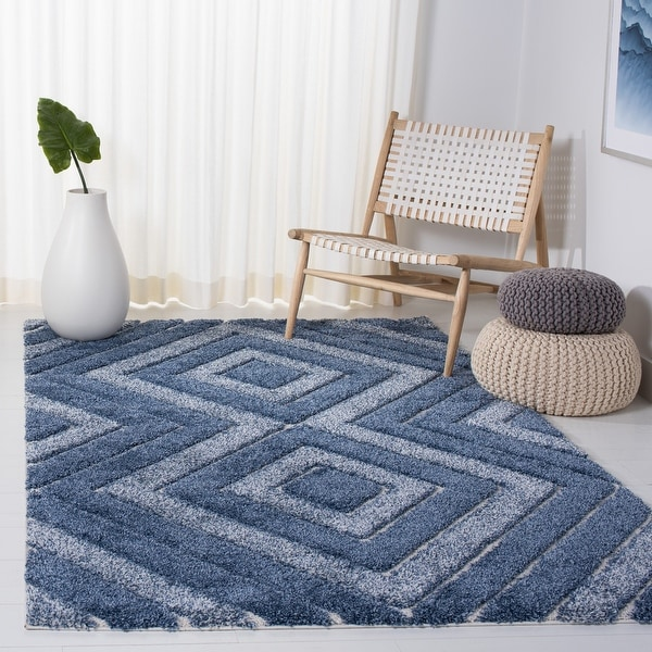 SAFAVIEH Memphis Shag Leftera 1.2-inch Thick Rug. Opens flyout.
