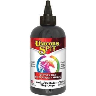 Unicorn Spit Wood Stain & Glaze 8Oz-Midnight's Blackness