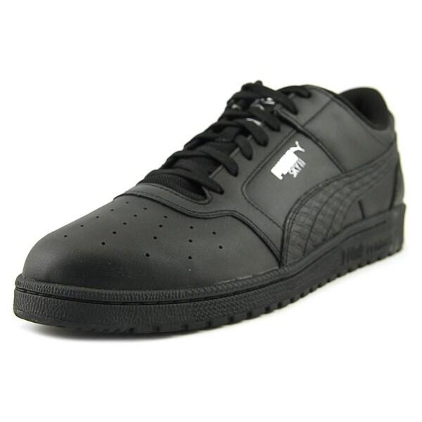 Puma Sky II Lo B&W Men Round Toe Leather Black Sneakers