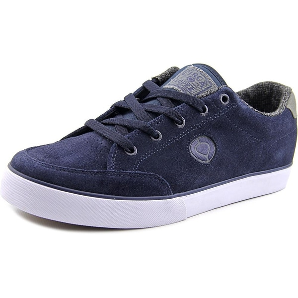 C1rca Lopez 50 Slim Men  Round Toe Suede Blue Skate Shoe