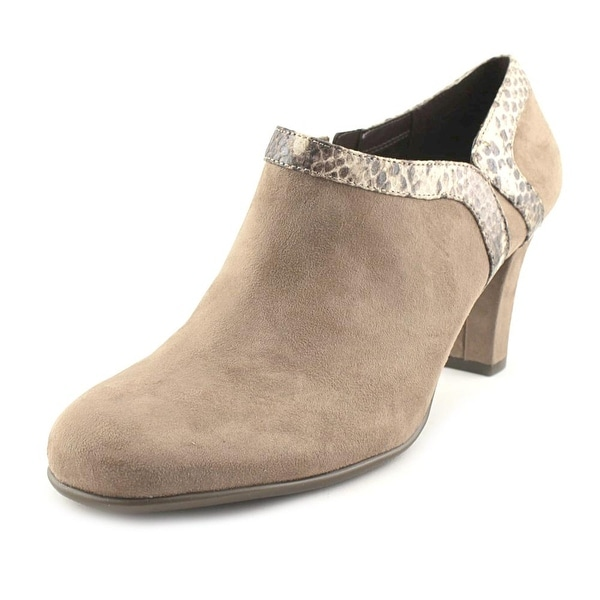 Aerosoles Day Strole Women Taupe Snake Boots