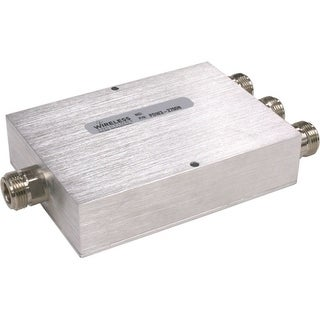 Wireless Solutions - 698-2700 MHz 3-Way Splitter w/ N Females