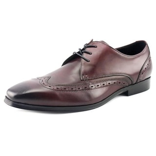 Aldo Mazaire Men  Wingtip Toe Leather Burgundy Oxford