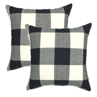 Link to Buffalo Check 18 Inch Decorative Throw Pillow Cover (set of 2) Similar Items in Decorative Accessories