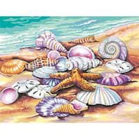 """Shells - Paint Works Paint By Number Kit 11""""X14"""""""
