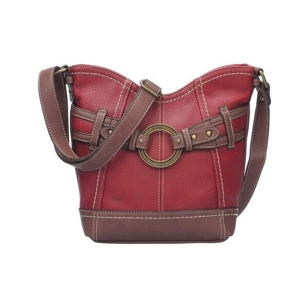 09526522e Shop B.O.C. Born Concepts Womens Brimfield Scoop Tulip Crossbody Handbag  Faux Leather - burgundy walnut - MEDIUM - Free Shipping On Orders Over  45  ...