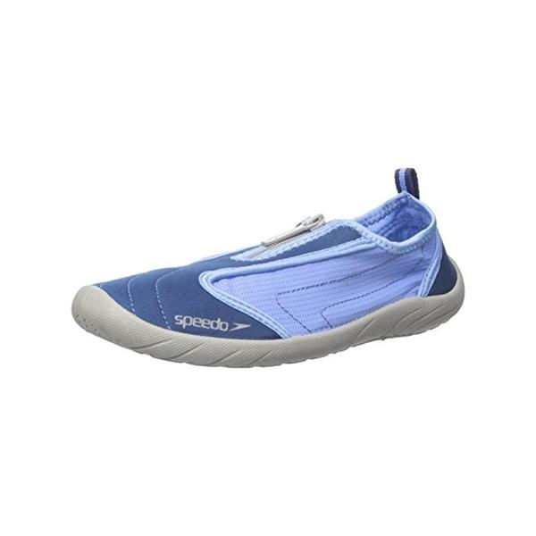 Speedo Womens Zipwalker 4.0 Water Shoes Mesh Breathable