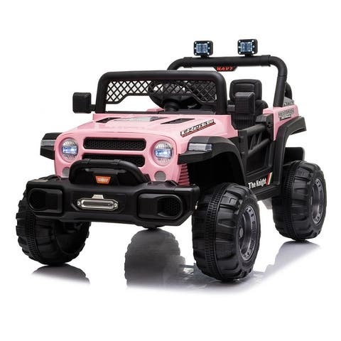 12V Kids Electric Ride-On Car SUV Truck with Remote Control