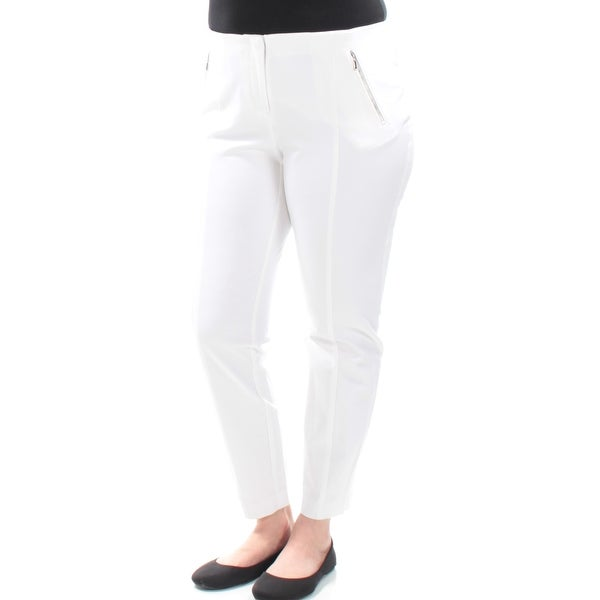 46fea4ecb Shop Womens White Wear To Work Pants Size 16 - Free Shipping On Orders Over  $45 - Overstock - 22420643
